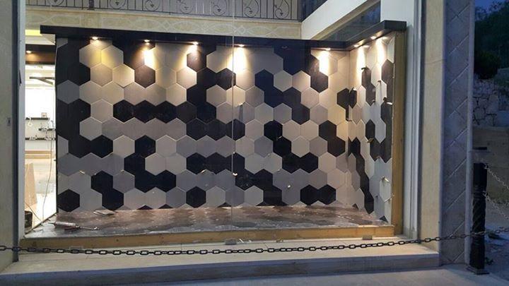 Distribuidora Universal Tile de Bestile en Beirut, Libano. Tile shop Universal Tile at Beirut, Lebanon