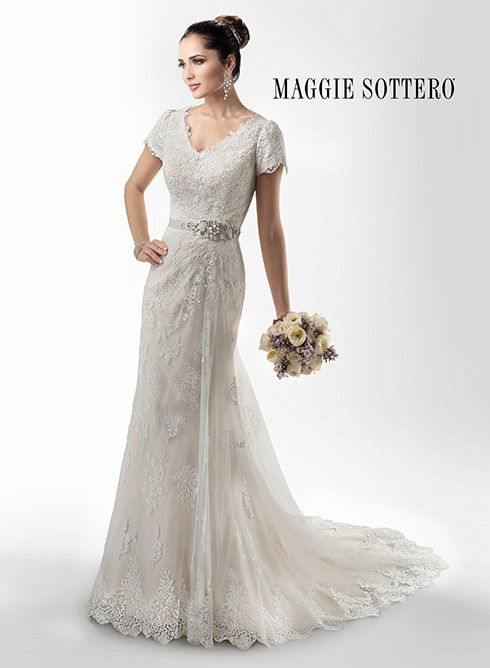 190 best wedding gowns we can order for you images on for Maggie sottero short wedding dress