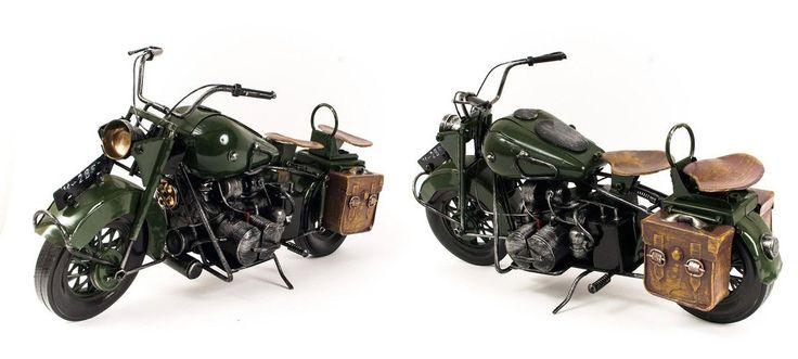 Miniatura Moto Militar - Machine Cult | A loja das camisetas de carro e moto