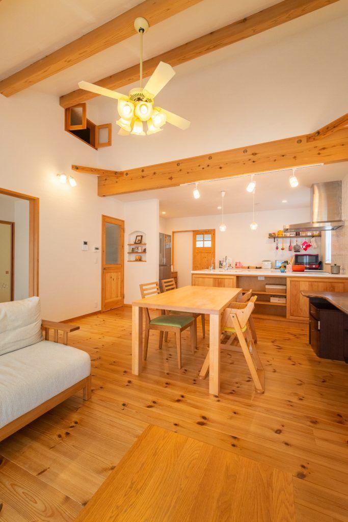 収納上手な平屋で叶える 快適な暮らし 天井 家 屋根裏部屋
