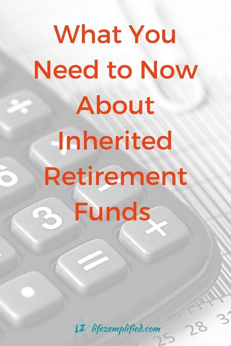 You may already know that when you reach the age of 70 ½ you are required by the IRS to start taking RMDs from IRAs, 401(k)s and other tax-deferred accounts. But you also need to know about RMDs as they may come into play when you inherit an IRA or Qualified Retirement Plan (401k, 403b, etc.) no matter what your age. #RMDs #InheritedIRA #IRA #RetirementFunds via @LifeZemplified