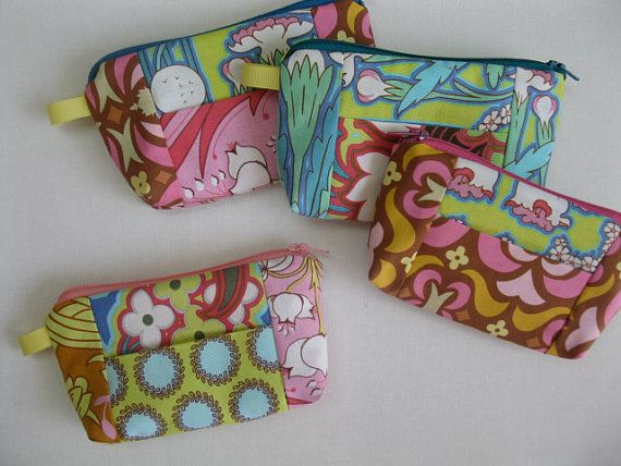 30 MINUTE Change purse / Wallet - Great beginner project on Etsy, $7.07 CAD