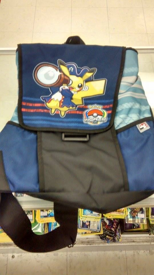 Play Pokemon Official Worlds Championships 2015 Pirate Pikachu Backpack | eBay