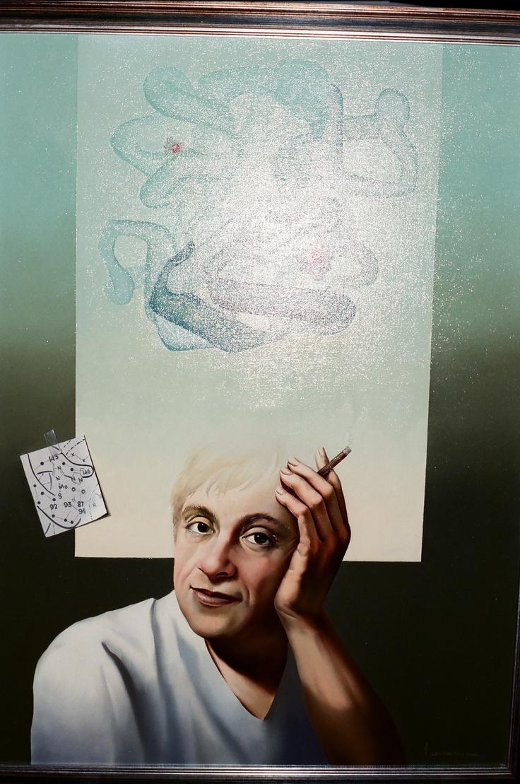 Vito Campanella Portrait of Alfred Bennun