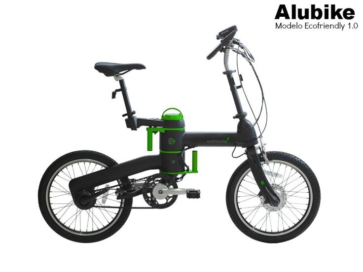 Bicicleta Alubike Biciletas urbana de pedaleo asistido  modelo Ecofriendly 1.0 https://www.facebook.com/Alubike #Bikes #bicicletas #Alubike