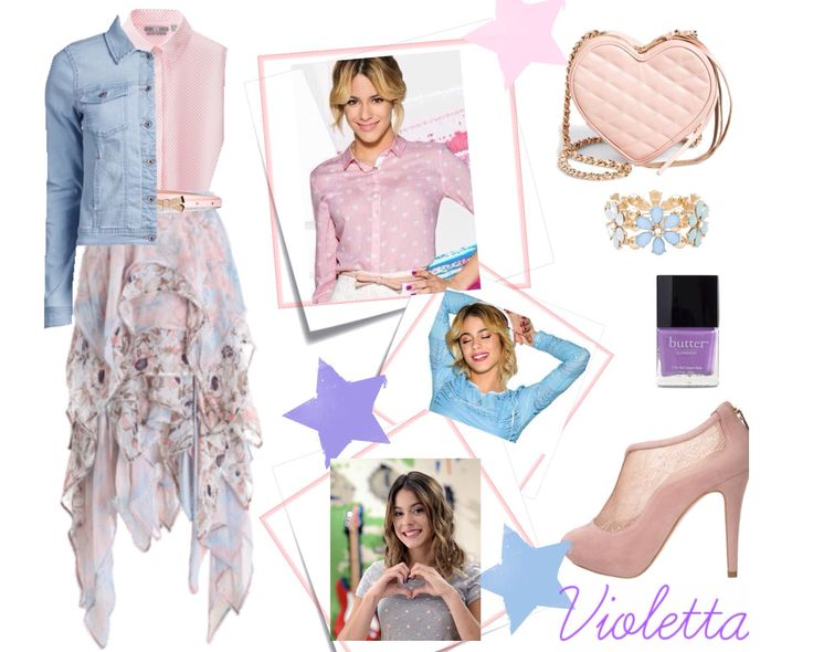 Tenue 2 Violetta Violetta Pinterest Clothes