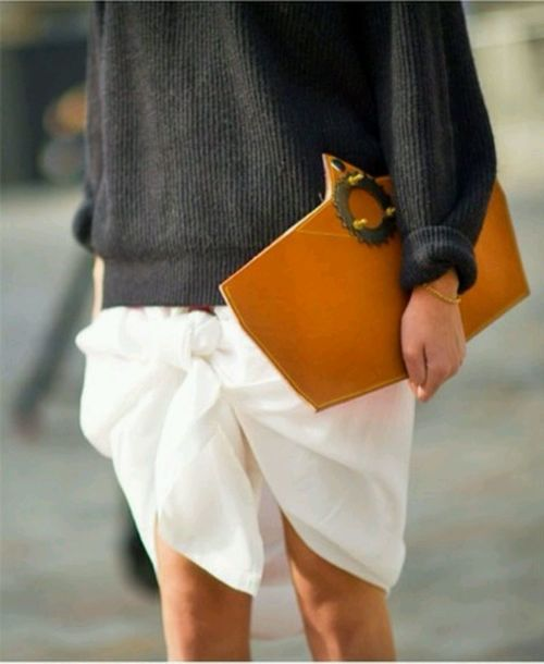 stylisimo:  (Via: over-the-fashion-style.tumblr.com) From Punk to Coutur: mix a pastel skirt with a leather…