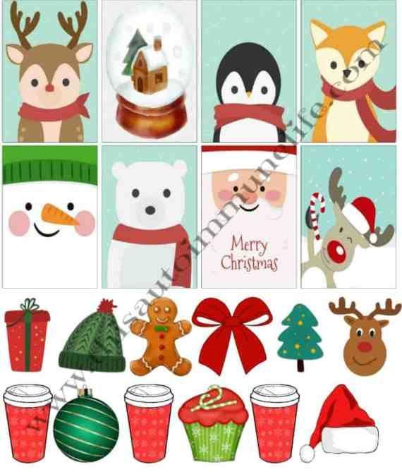 Free December 2017 Planner Stickers #freepik @freepik