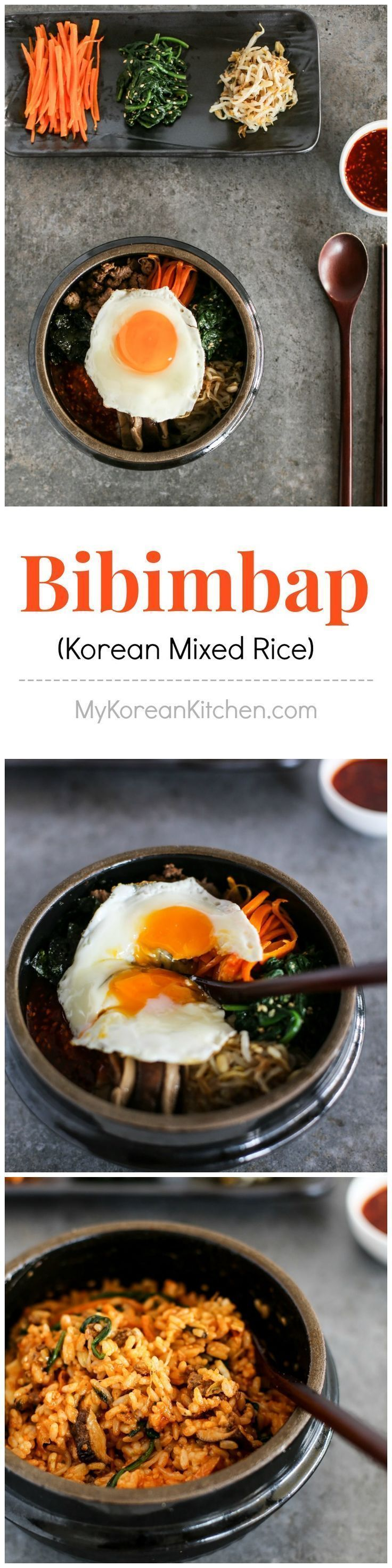 Addictively delicious Bibimbap recipe | http://MyKoreanKitchen.com