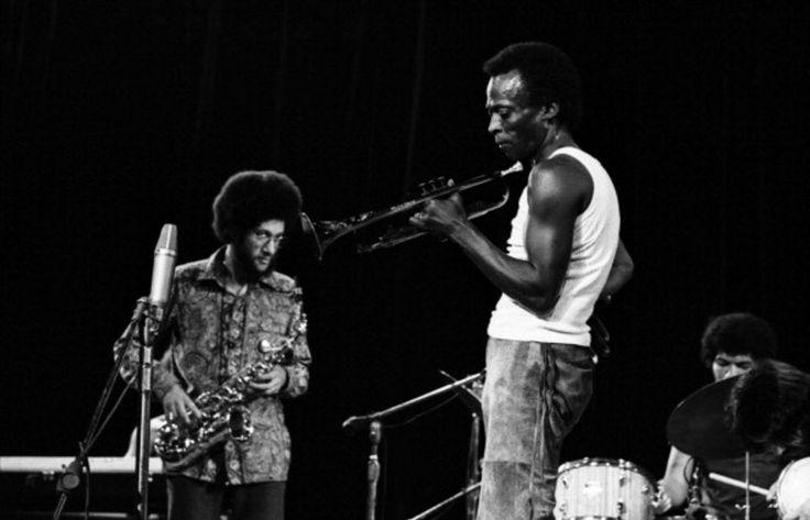 Miles Davis, Gary Bartz and Jack DeJohnette
