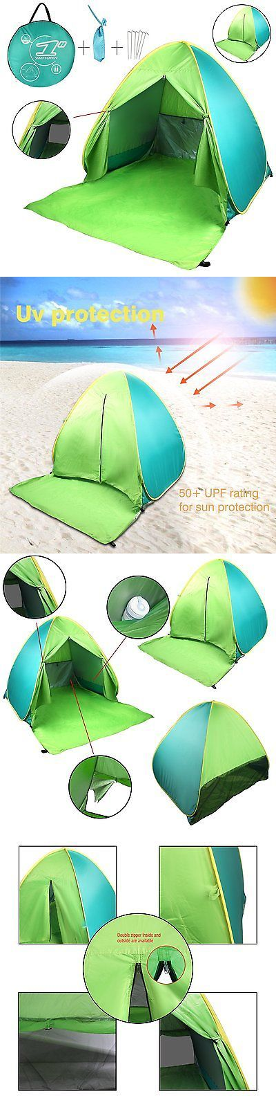 Tents 179010: Fbsport Portable Lightweight Beach Tent ,Automatic Pop Up Sun Shelter Cabana Upf -> BUY IT NOW ONLY: $30.42 on eBay!