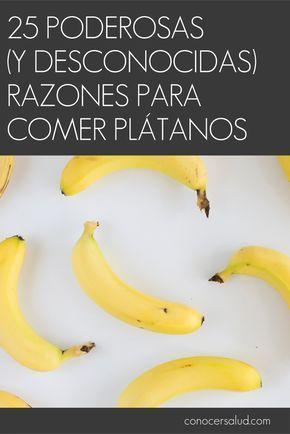 Usted nunca mirará un plátano de la misma manera después de descubrir los muchos beneficios para la salud y las razones para añadirlos a su dieta. Los plátanos combaten la depresión, le hacen más inteligente, curan resacas, alivian las náuseas del embarazo, protegen contra el cáncer de riñón, la diabetes, la osteoporosis y la ceguera. Pueden curar la picazón de una picadura de mosquito o abrillantar sus zapatos. Aquí hay 25 razones para comer plátanos que es posible que nunca llegase a…