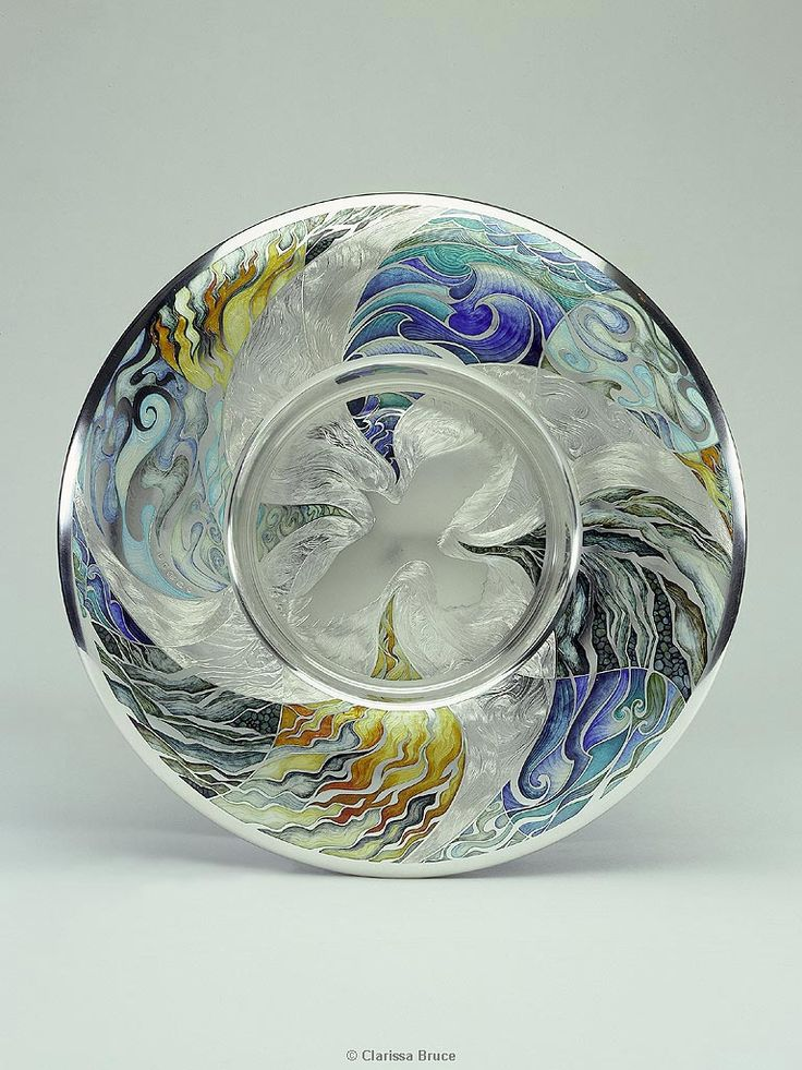 Commemorative Charger by Jane Short