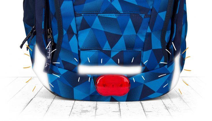 optimale Sichtbarkeit des satch Schulrucksack