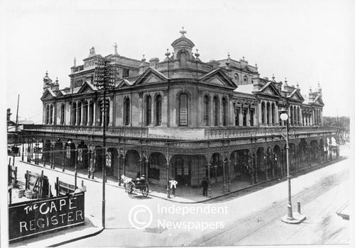 Old Opera House, Cape Town, demolished 1937.