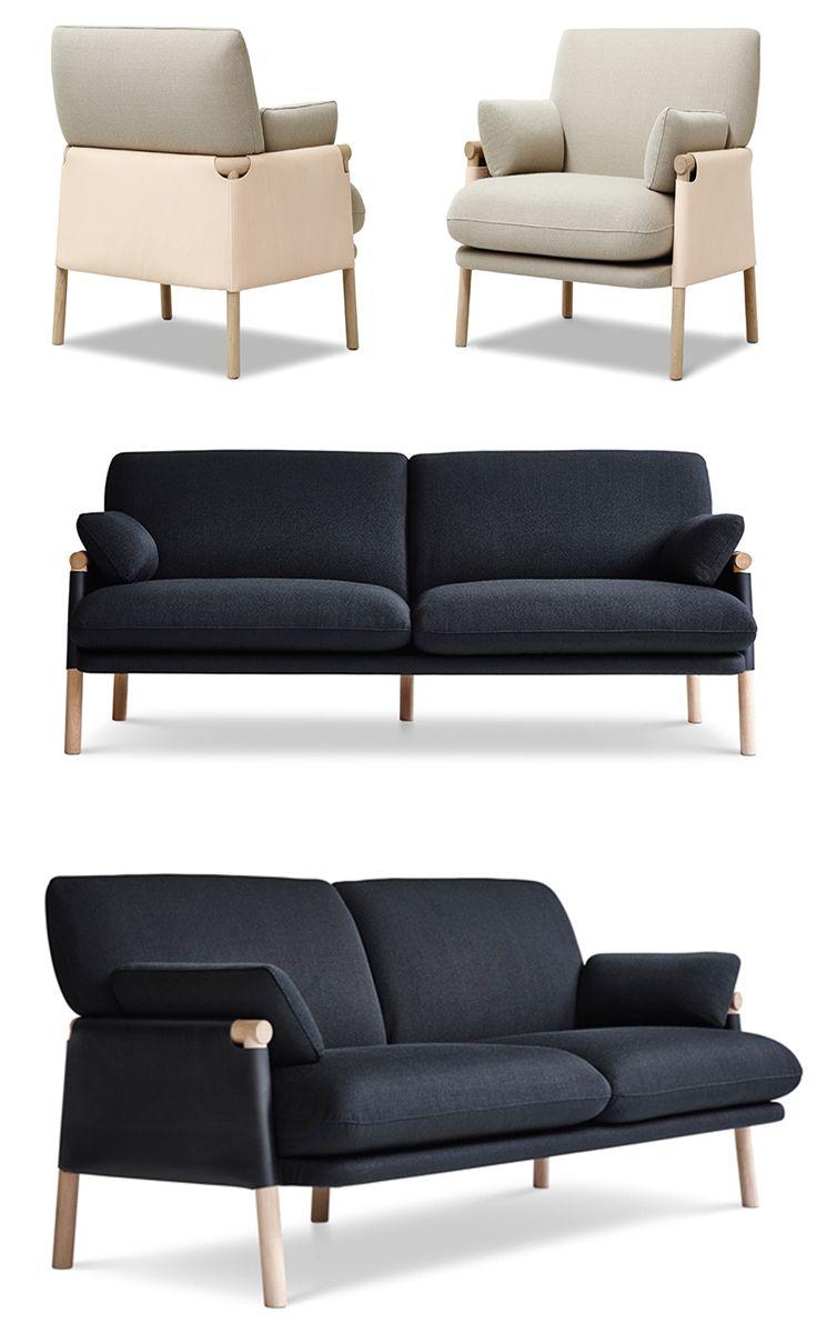 Monica F 246 Rster Design Studio Fur Sofa Scandinavian