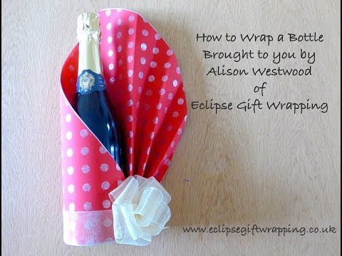 Housetohome Channel Editor Vicky shows you how to wrap an awkward shaped present with this quick and simple craft video