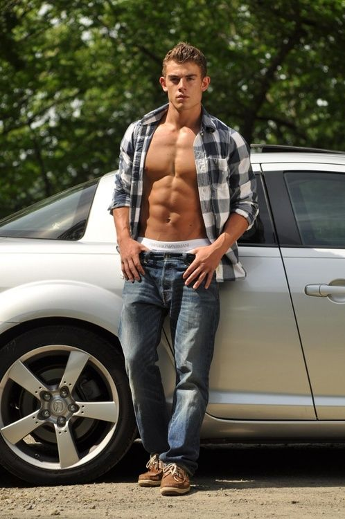 Shirtless #6PackAbs #FitnessModel #Jacket #Handsome #Sexy | Guys ...