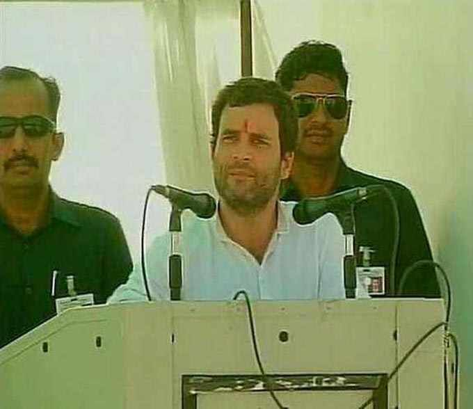 Congress Vice-President, Rahul Gandhi, addressed a large number of people during his second campaign rally for Rajasthan assembly election for more news on International latest update, International News Headlines,Breaking International News,Daily International News,International latest update English International News in English,English International News.  read more at :http://daily.bhaskar.com/national/