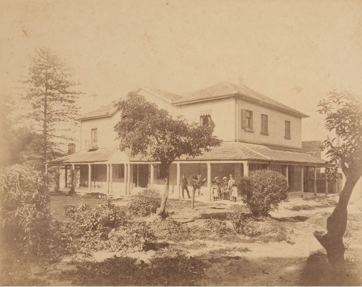 Kellett House, Darlinghurst, Sydney, originally called Bona Vista, was built in the 1830s for Deputy Surveyor-General Samuel Augustus Perry (1792-1854). It was later the home of Sir Stuart Donaldson (1812-1867), the first Premier of New South Wales and then, in 1864, became the city residence of pastoralist William Frederick Buchanan (1824-1911). Buchanan had the house demolished in 1885, building in its place the Hotel Mansions