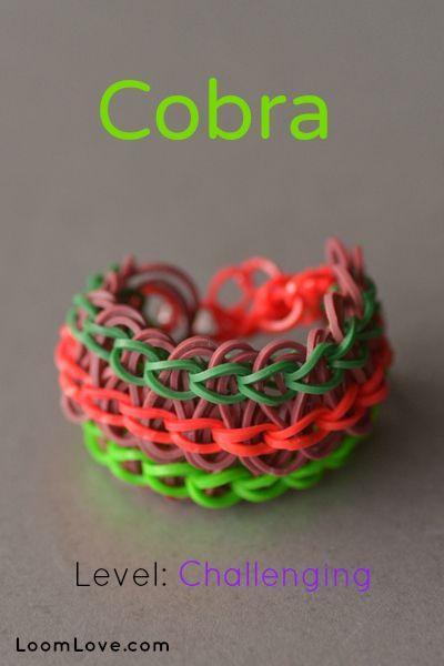 How to Make a Cobra Bracelet