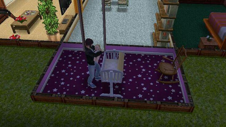 Papi durmiendo a la bebé