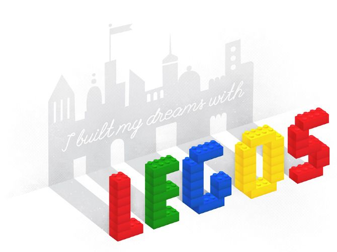19 best images about Lego Typography on Pinterest | Behance ...