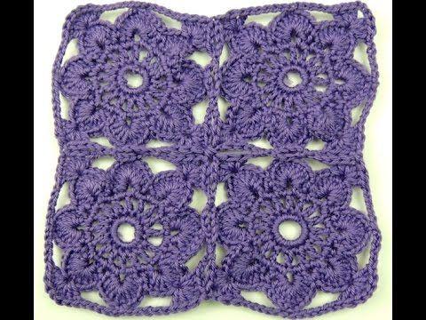 Crochet: Cuadrado # 16