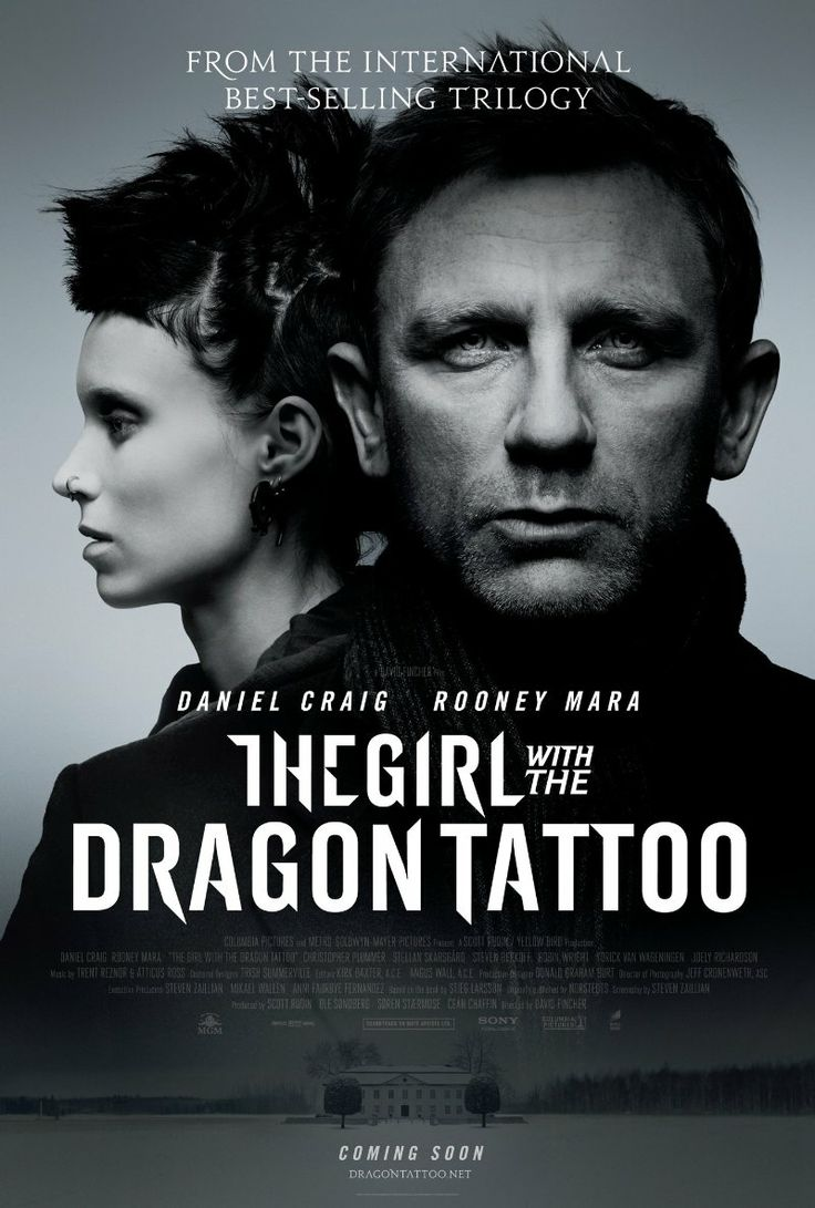 The Girl with the Dragon Tattoo -- Netflix DVD - I was surprised how much I enjoyed this, since I hadn't heard much good about it. I liked it better than the book and the Swedish version. Loved the direction and cinematography especially, very beautiful, and the entire cast. ****