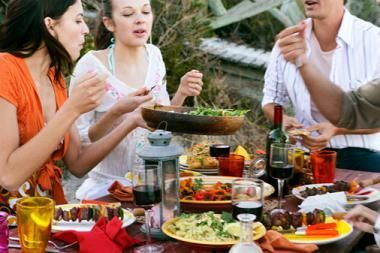 Summer Dinner Party Menu Ideas - Italian, Asian, American, Mediterranean, ...