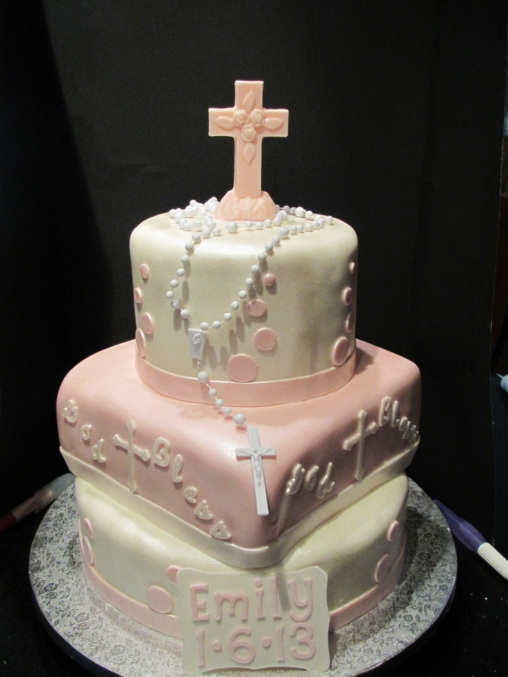 Baptisim / First Communion Cake