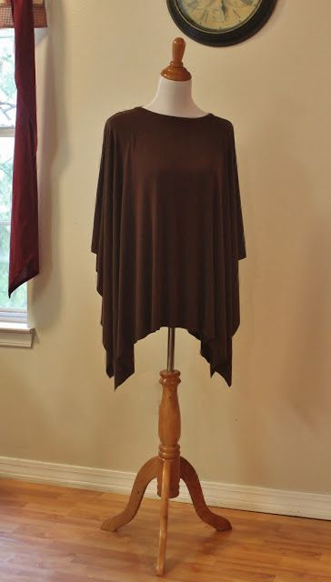 The Nursing Poncho -- Best directions and measurements.