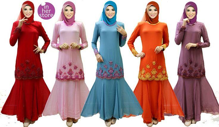 Dress Muslimah - Sophia Series Material : Chiffon Cerruti Size : XS - S – M – L – XL Retail Price : Rp 325 rb/pc Reseler Price : Rp 300rb/pc (min.3pcs, mix size & colours allowed) PIN : 75BD8849 Line : go2dika
