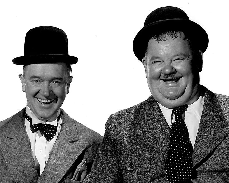 Laurel and Hardy - A little before my time, but growing up we used to have 16mm film nights and Laurel and Hardy were always the favorite!