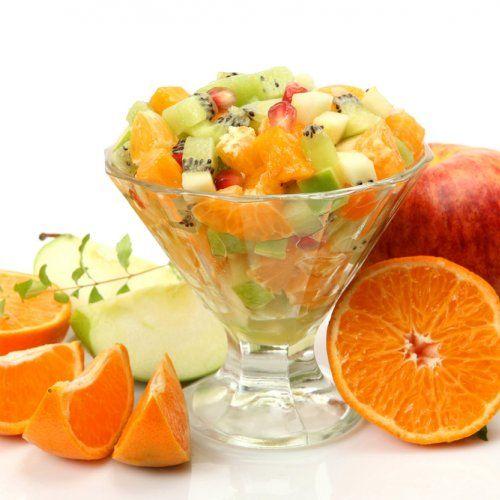 Salade de fruits du temps des Fêtes