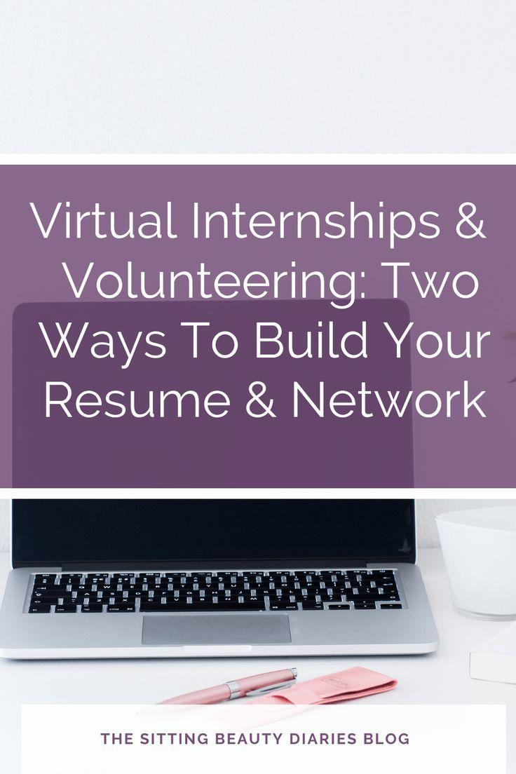 Virtual Internships & Volunteering Two Ways To Build Your