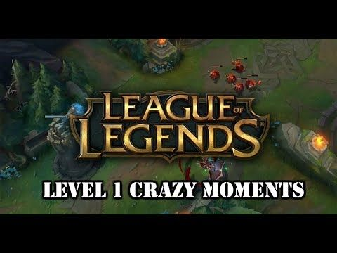 If you want to check out some level 1 madness :P https://www.youtube.com/watch?v=Y8WZm5ljb-Q #games #LeagueOfLegends #esports #lol #riot #Worlds #gaming