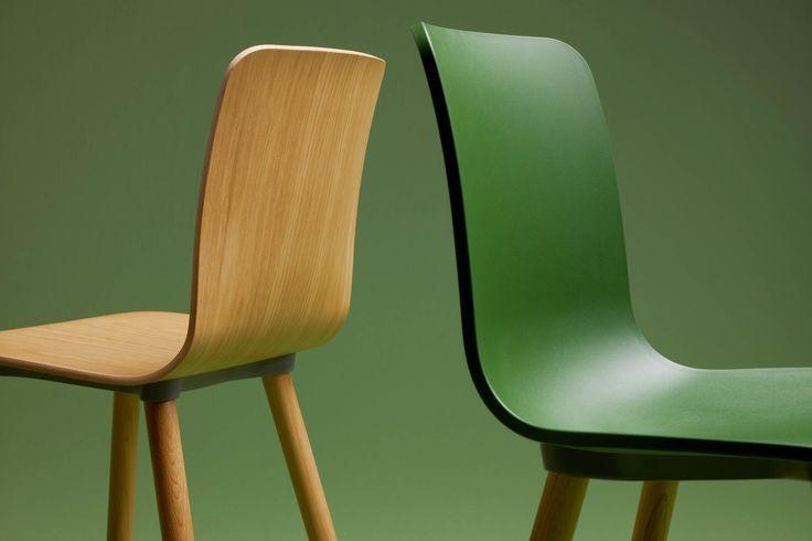 Vitra stoel Hal Wood & Hal Ply Wood door Jasper Morrison