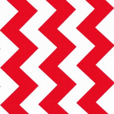 Chevron Stripe Red