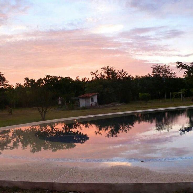 Sunset. Rozo, Valle del Cauca,Colombia.