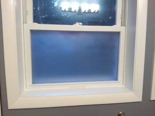 Is there glare reducing glass that you can replace windows with? Answer: Home Depot carries a number of window tinting...