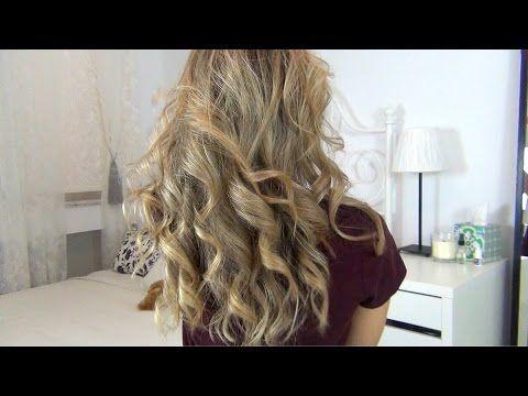 Πως κάνω μπούκλες με το σίδερο του ισιώματος   Eva Roussou - YouTube