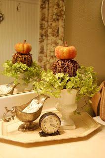 Fall. Decorating BathroomsBathrooms DecorBathroom IdeasBath ...