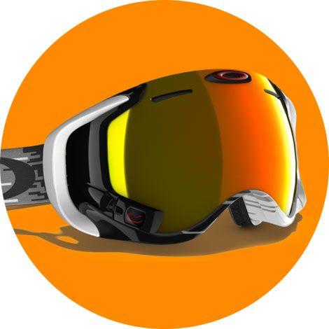 Oakley Airwave 1.5 Oubliez les Google Glasses : voici Airwave, le masque de ski ultra-sophistiqué d'Oakley.  http://lecollectif.orange.fr/articles/techlist-speciale-ski/