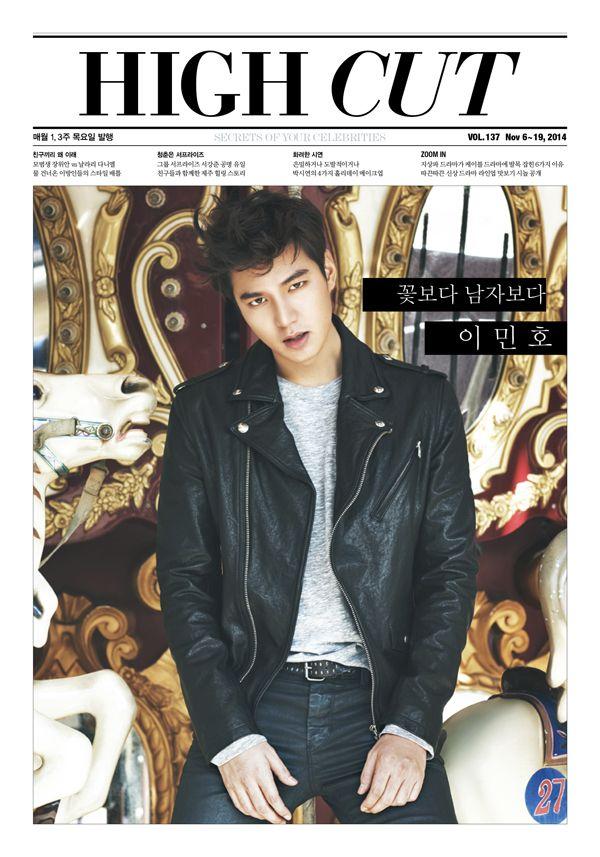Lee Min Ho - High Cut Magazine Vol.137