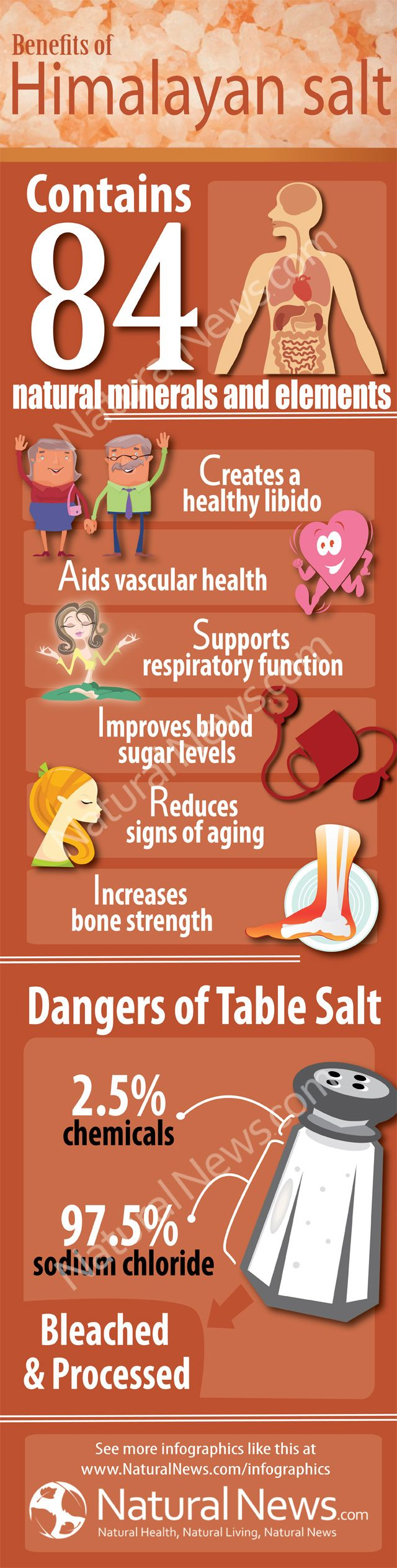 Benefits of Himalayan Salt - I wonder, with all the health benefits, why it isn't more publicized.