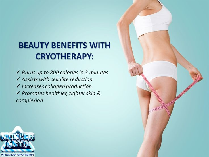 The #beauty benefits with #cryotherapy are endless!