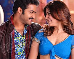 Samantha scares of dancing with jr NTR