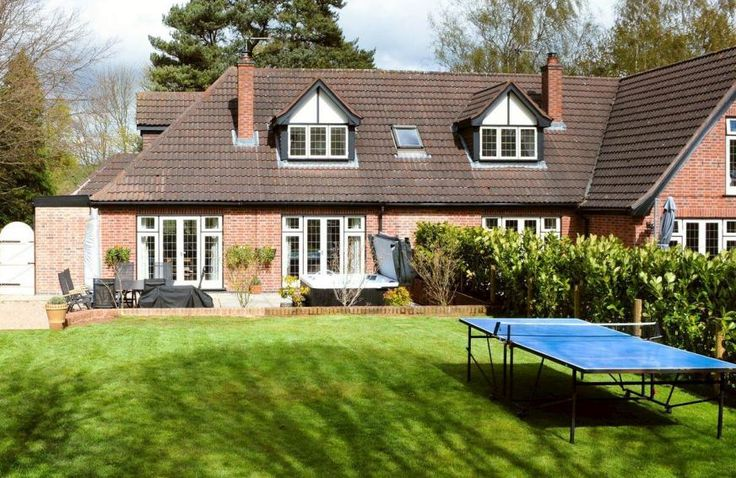 Attractive patio and garden | Lambley Lodge, Lowdham