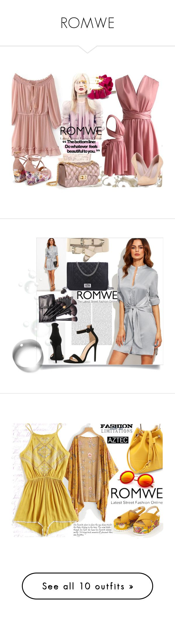 """""""ROMWE"""" by mery-2601 ❤ liked on Polyvore featuring modern, romwe, Trendy, onlineshopping, Marc, WithChic and Élitis"""